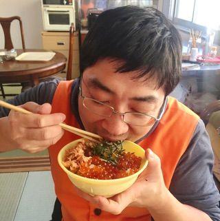 いくら丼、亀田